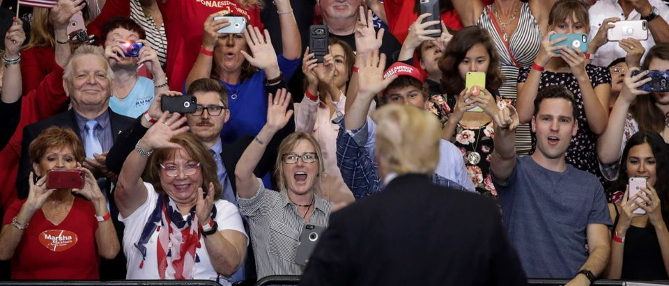 President Trump Holds Rally In Nashville, Tennessee (Photo by Drew Angerer/Getty Images)