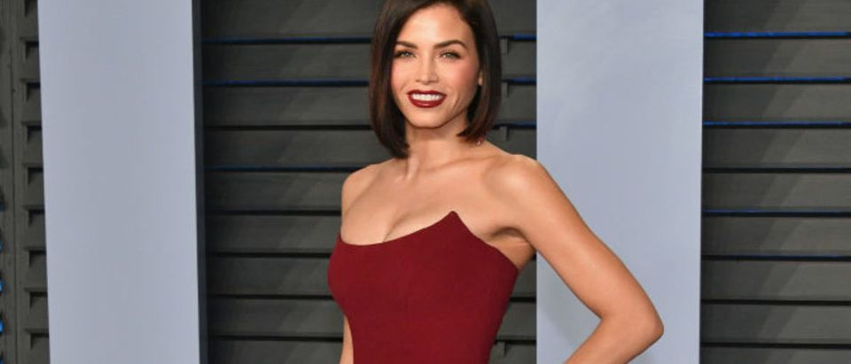 Jenna Dewan Tatum attends the 2018 Vanity Fair Oscar Party hosted by Radhika Jones at Wallis Annenberg Center for the Performing Arts on March 4, 2018 in Beverly Hills, California. (Photo by Dia Dipasupil/Getty Images)