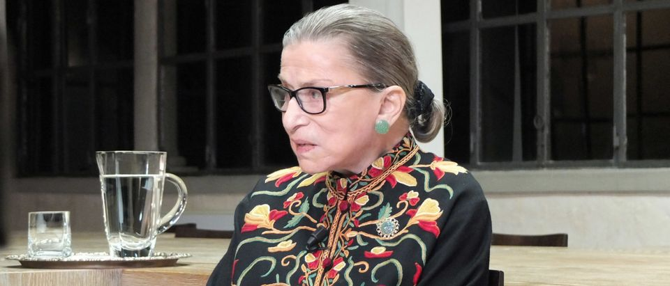 Justice Ruth Bader Ginsburg in September 2014. (Credit: European University Institute/Creative Commons)
