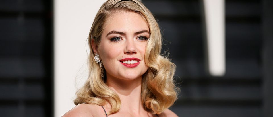 Model Kate Upton appears at the Vanity Fair Party around the 89th Academy Awards in Beverly Hills, California, Feb. 26, 2017. REUTERS/Danny Moloshok