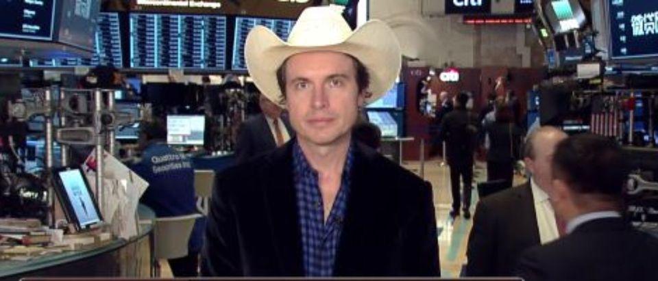 Kimbal Musk talks Tesla during Fox News interview. (snapshot of FBN)