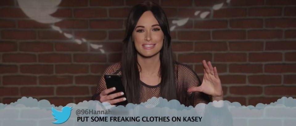Mean Tweets (Credit: Screenshot/YouTube Jimmy Kimmel Live)
