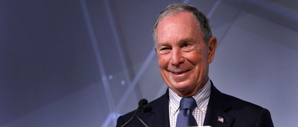 Michael Bloomberg, billionaire and former Mayor of New York City, speaks at CityLab Detroit, a global city summit -- Bill Pugliano - Getty Images