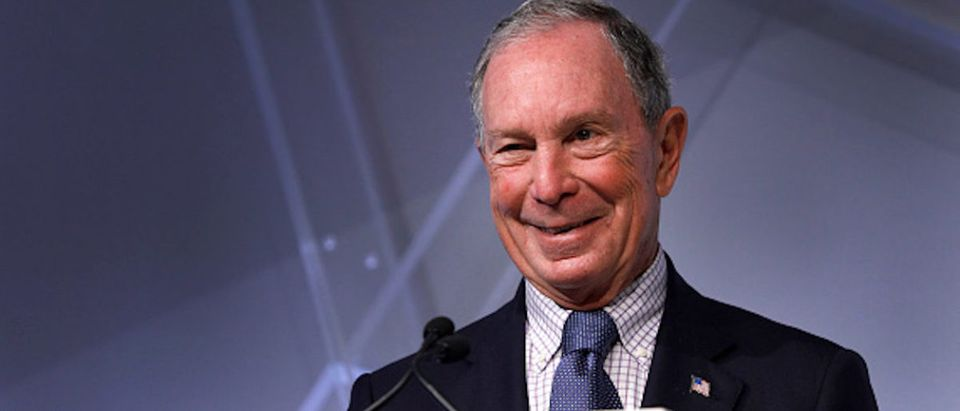 Michael Bloomberg, billionaire and former Mayor of New York City, speaks at CityLab Detroit, a global city summit, on October 29, 2018 in Detroit, Michigan