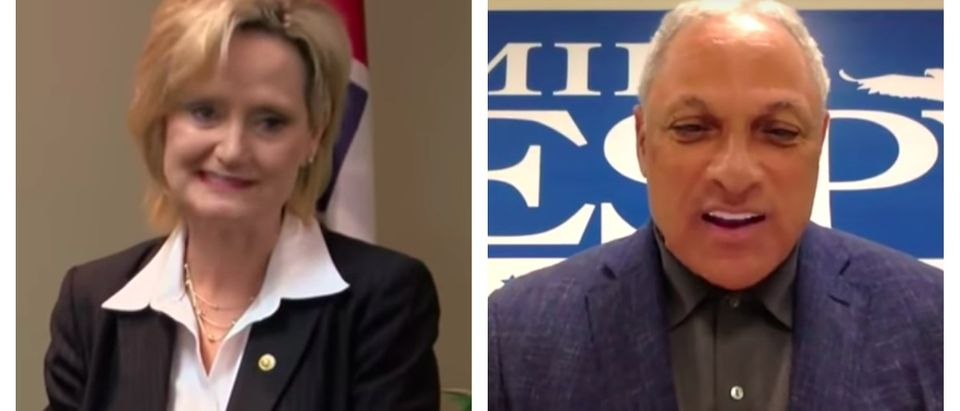 As the Mississippi runoff election nears, Democrats and left-wing groups reportedly see their best path to victory in the deep red state as a racial division against incumbent Republican Sen. Cindy Hyde-Smith. (YouTube/screen shot)