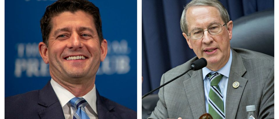 Paul Ryan - Bob Goodlatte Side By Side Tasos Katopodis and Andrew Harrer - Getty Images