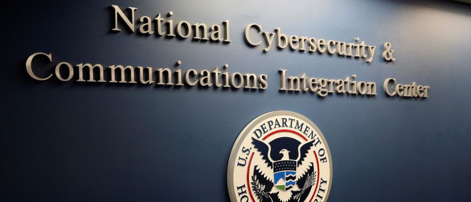 The U.S. Department of Homeland Security National Cybersecurity and Communications Integration Center (NCCIC) in Arlington, Virginia