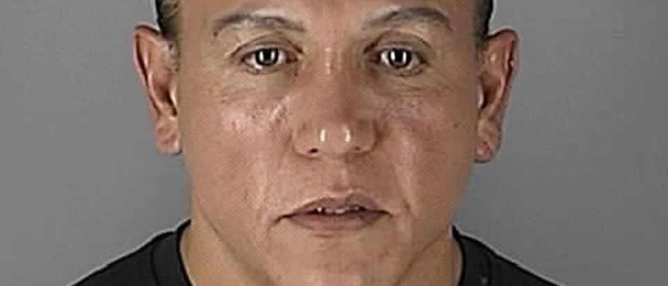 Cesar Altieri Sayoc appears in Minneapolis, Minnesota, U.S. in this August 31, 2005 handout booking photo obtained by Reuters October 26, 2018. Hennepin County Sheriff's Office/Handout via REUTERS