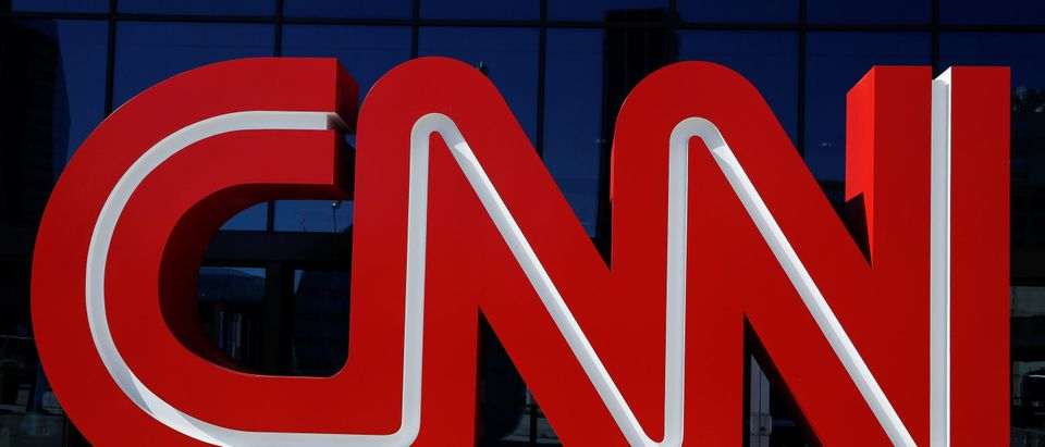 The CNN Headquarters is pictured in Atlanta