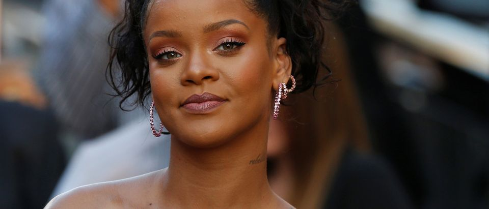 """Cast member Rihanna at the premiere for """"Valerian and the City of a Thousand Planets"""" in Los Angeles"""
