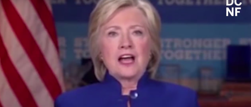 Pollster Frank Luntz conducted a focus group of Democratic voters and asked them what they thought of former Democratic president candidate Hillary Clinton running again. (YouTube/TheDCNF)