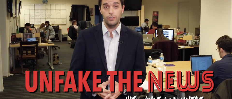 Unfake the news, Vince Coglianese (TheDC YouTube)