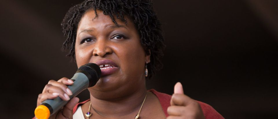 "Democratic Gubernatorial Nominee Stacey Abrams Leads A ""March To The Polls"" In Atlanta"