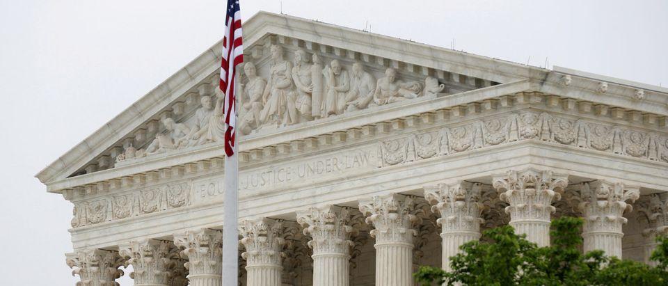 The Supreme Court is shown in Washington, U.S., May 14, 2018. REUTERS/Joshua Roberts