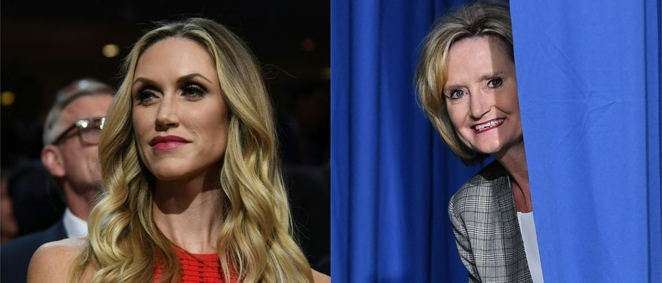 Lara Trump: Don't Let The Democrats 'Runoff' With Another Senate Seat/ Getty Images Collage