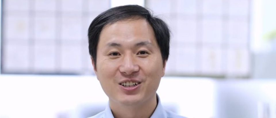 Chinese scientist He Jiankui is behind a trial he said created the first genetically edited embryos ever born. YouTube screenshot/The He Lab