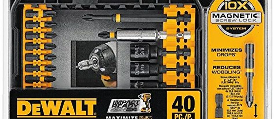 Normally $40, this screw driving set is 50 percent off today (Photo via Amazon)