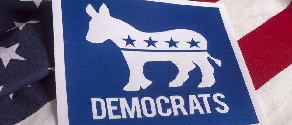 Democratic Party Logo. shutterstock_305852213