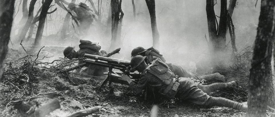 American soldiers, WWI/ Shutterstock