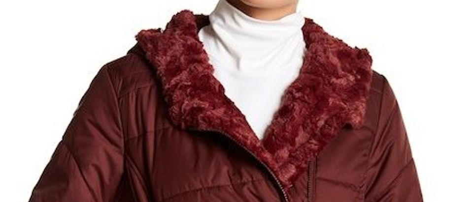 Normally $180, this parka is 40 percent off (Photo via Nordstrom Rack)