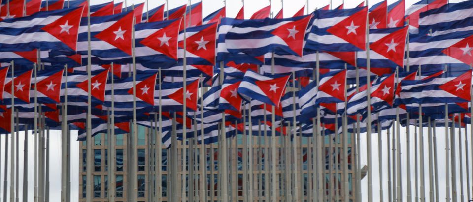 Pictured is an embassy in Cuba. (Shutterstock/Luca Querzoli)