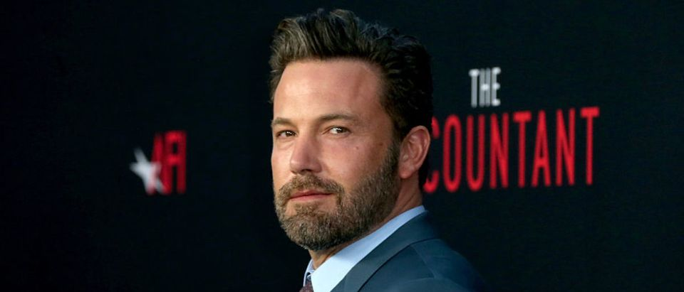 "Actor Ben Affleck attends the premiere of Warner Bros Pictures' ""The Accountant"" at TCL Chinese Theatre on October 10, 2016 in Hollywood, California. (Photo by Frederick M. Brown/Getty Images)"