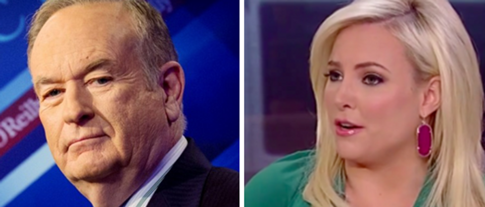 Bill O'Reilly (Reuters-left) Meghan McCain (screengrab-right)