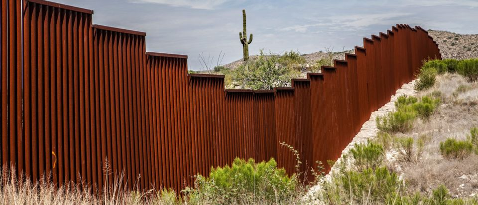 Border Wall. Shutterstock