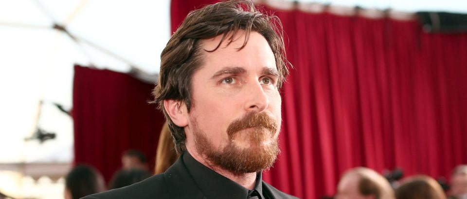 LOS ANGELES, CA - JANUARY 30: Actor Christian Bale attends The 22nd Annual Screen Actors Guild Awards at The Shrine Auditorium on January 30, 2016 in Los Angeles, California. (Photo by Christopher Polk/Getty Images for Turner)