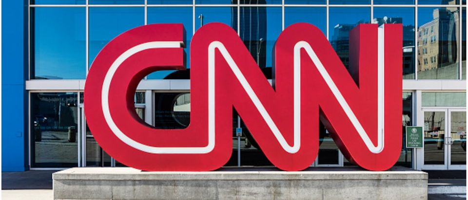 CNN World Headquarters. (Photo by John Greim/LightRocket via Getty Images)