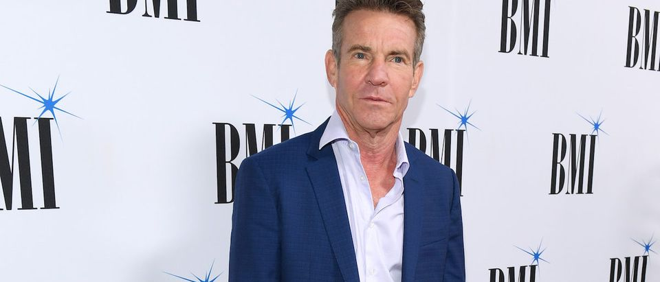 Dennis Quaid attends the 66th Annual BMI Country Awards at BMI on November 13, 2018 in Nashville, Tennessee. (Photo by Jason Kempin/Getty Images)