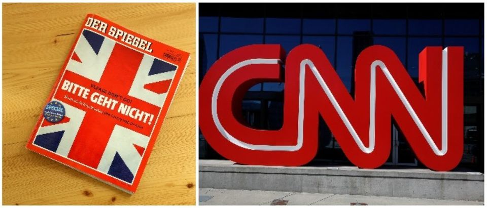 Der Spiegel and CNN (LEFT: Sean Gallup/Getty Images RIGHT: Christopher Aluka Berry/ Reuters)
