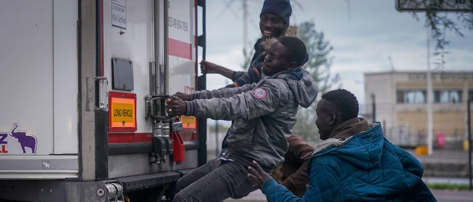 Migrants Try New Crossing From France To The UK
