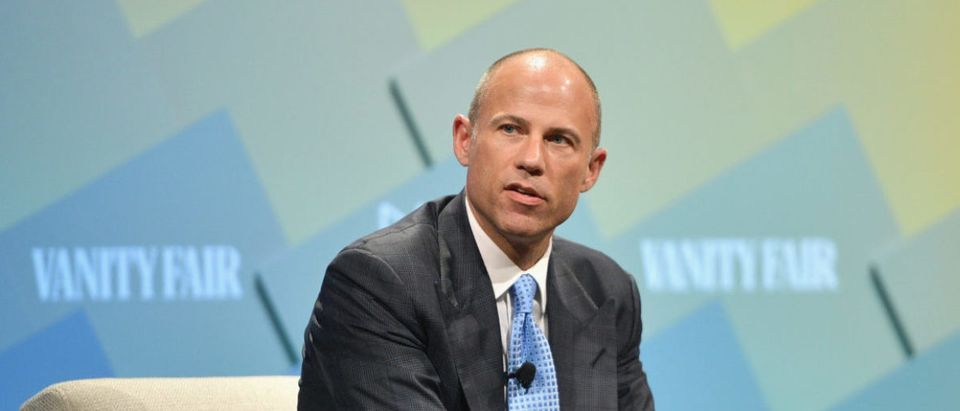 Co-founder of Eagan Avenatti, LLP, Michael Avenatti speaks onstage at Day 2 of the Vanity Fair New Establishment Summit 2018 at The Wallis Annenberg Center for the Performing Arts on Oct. 10, 2018 in Beverly Hills, California. (Photo by Matt Winkelmeyer/Getty Images)
