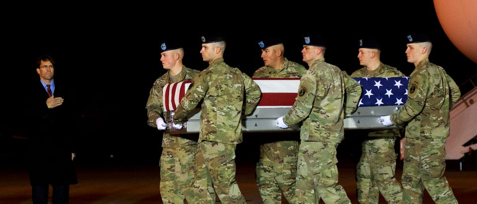 Dignified Transfer Held For Army Ranger Killed In By Enemy Forces In Afghanistan