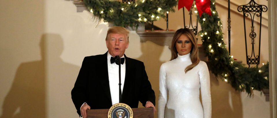 President Donald Trump and First Lady Melania Trump host the Congressional Ball