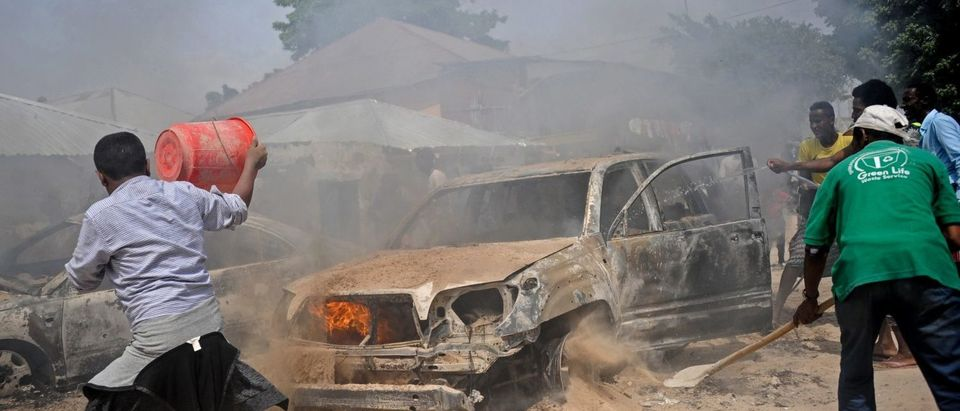 SOMALIA-CAR-BOMB-BLAST-UNREST