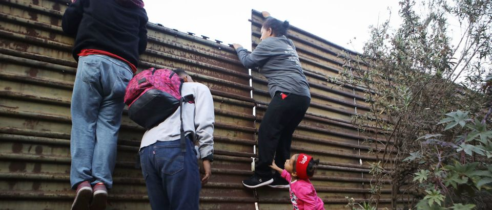 Migrants Continue To Try To Reach The United States At The Tijuana Border