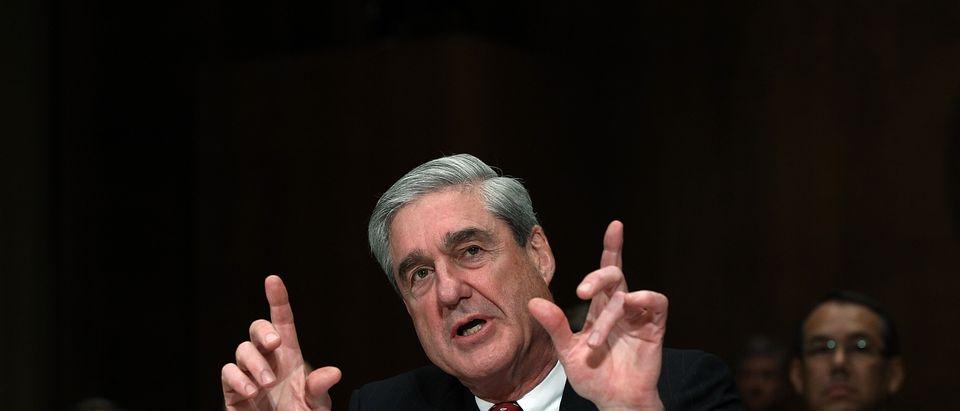 FBI Director Robert Mueller Testifies At Senate Judiciary Committee Of FBI Oversight