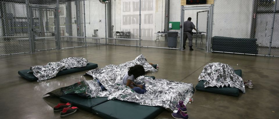 U.S. Border Patrol Houses Unaccompanied Minors In Detention Center (Photo by John Moore/Getty Images)