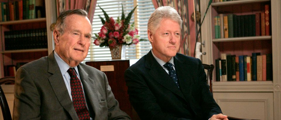 Former Presidents Bush, Clinton Call For Donations