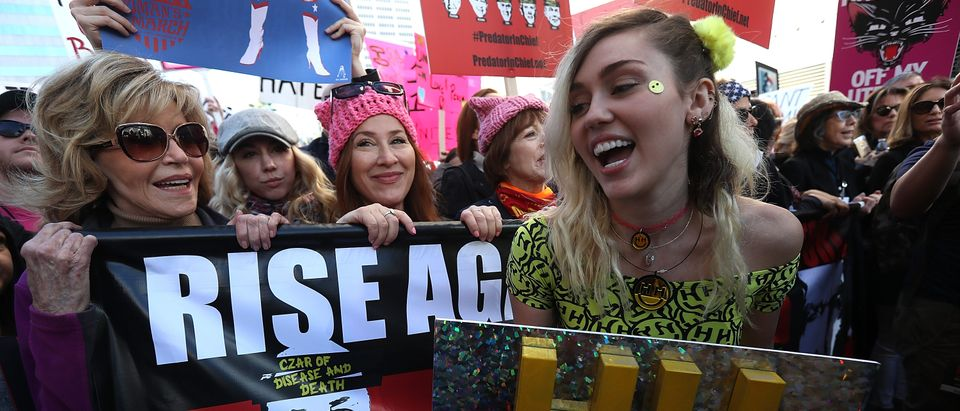 Women's March Held In Los Angeles