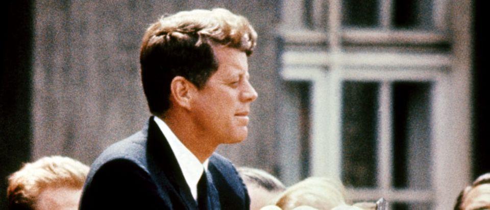 John Fitzgerald Kennedy (1917-63), pictu