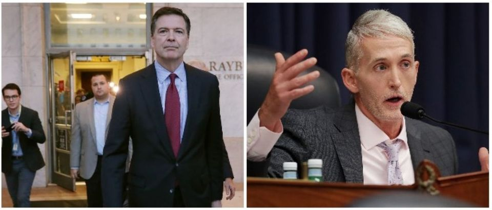 Jim Comey and Trey Gowdy (Both images: Chip Somodevilla/Getty Images)
