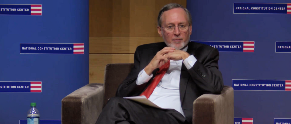 Judge John Bates speaks at the National Constitution Center on Dec. 13, 2018. (Photo: YouTube, the National Constitution Center/Screenshot)