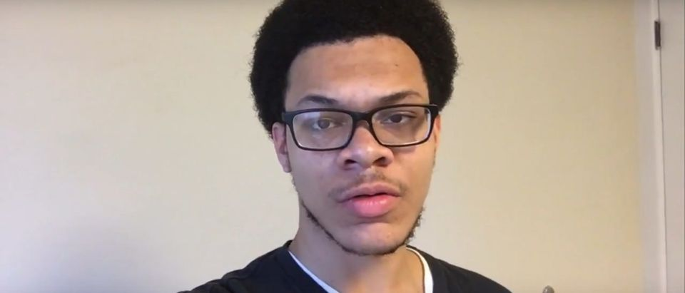 Juwan Royal, the Lehigh University Chemistry major alleged poisoned by Chinese international student Yukai Yang, his roommate. (YouTube Screenshot/Juwan Royal)
