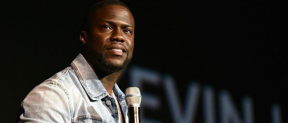Kevin Hart attends CinemaCon 2016 as Universal Pictures Invites You to an Exclusive Product Presentation Highlighting its Summer of 2016 and Beyond at The Colosseum at Caesars Palace during CinemaCon, the official convention of the National Association of Theatre Owners, on April 13, 2016 in Las Vegas, Nevada. (Photo: Getty Images)