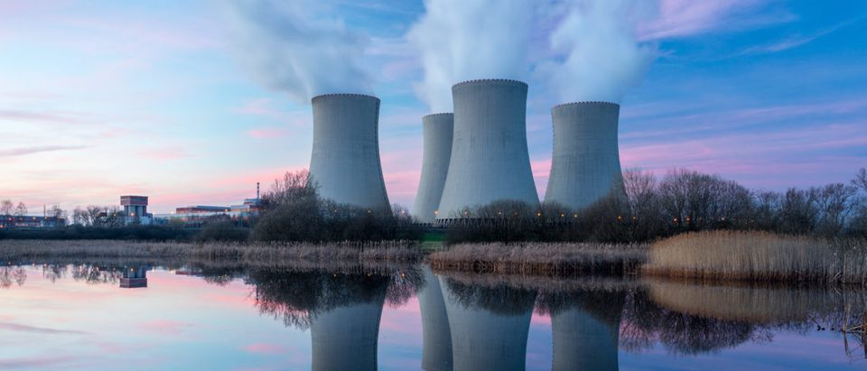 Here is a nuclear plant. Shutterstock
