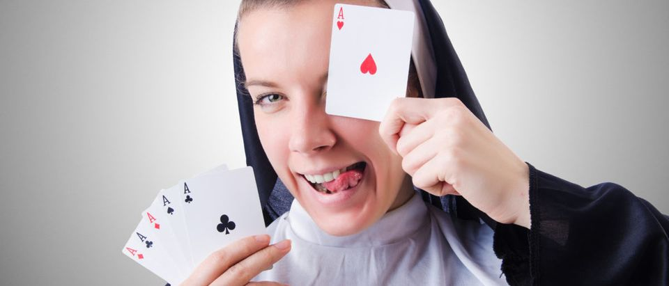 Nuns-Gambling-Shutterstock