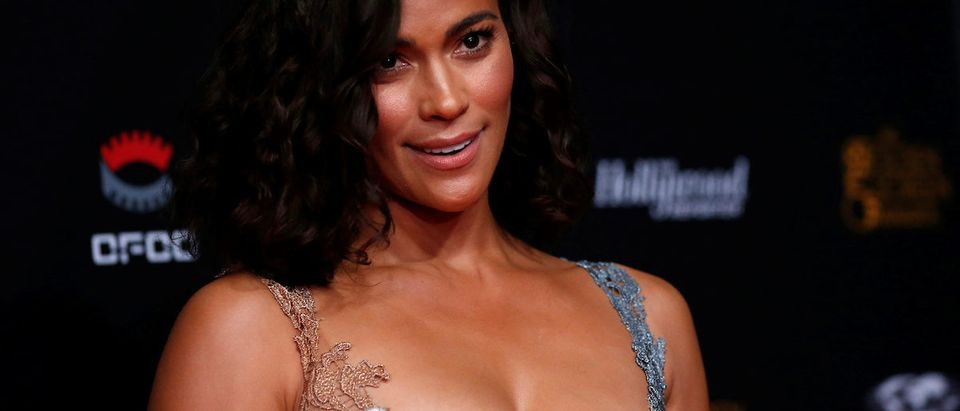 Actor Paula Patton poses at The Golden Screen Awards in Los Angeles, California, U.S., November 3, 2016. Picture taken November 3, 2016. REUTERS/Mario Anzuoni